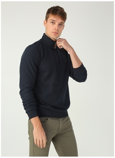 Limon Company Farko Bato Yakalı M Beden Erkek Sweatshirt Lacivert